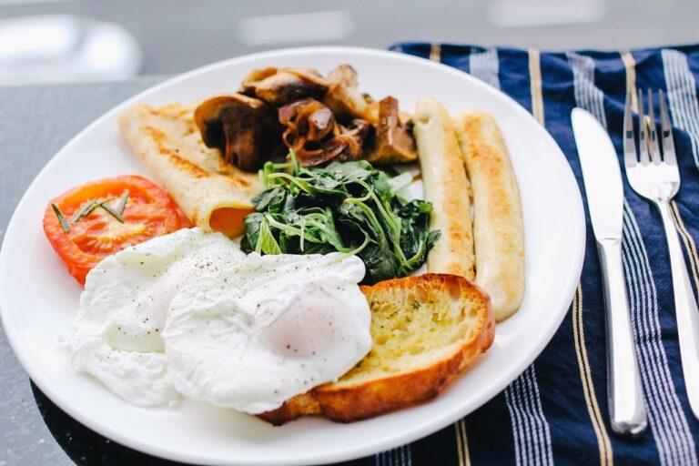 breakfast, food, dish